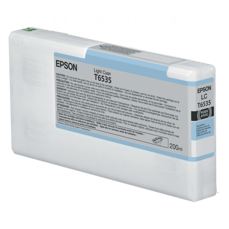 EPSON Ink for 4900 200ml Light Cyan T653500